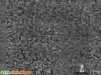 Zip code 68633 satellite photo by USGS