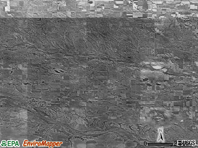 Zip code 68722 satellite photo by USGS