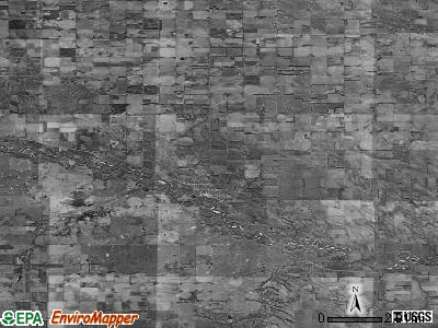 Zip code 68756 satellite photo by USGS