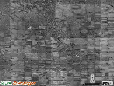 Zip code 68773 satellite photo by USGS