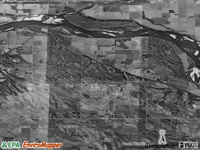 Zip code 68774 satellite photo by USGS