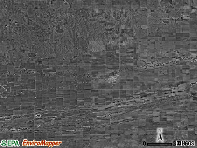Zip code 68840 satellite photo by USGS