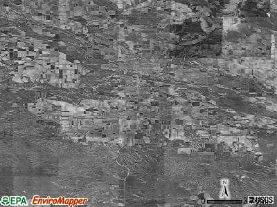 Zip code 69341 satellite photo by USGS