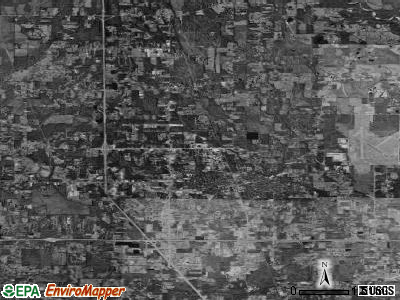 Zip code 70401 satellite photo by USGS