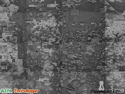 Zip code 70437 satellite photo by USGS