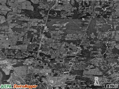 Zip code 70714 satellite photo by USGS