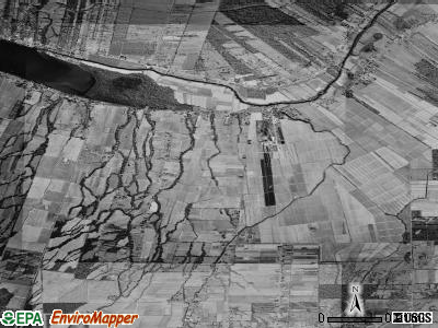 Zip code 70752 satellite photo by USGS