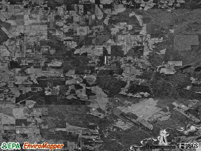 Zip code 70770 satellite photo by USGS