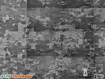 Zip code 71046 satellite photo by USGS