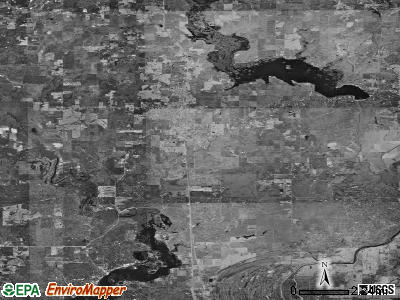 Zip code 71082 satellite photo by USGS