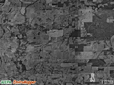 Zip code 71219 satellite photo by USGS