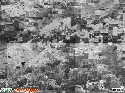Zip code 71825 satellite photo by USGS
