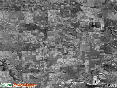 Zip code 71837 satellite photo by USGS
