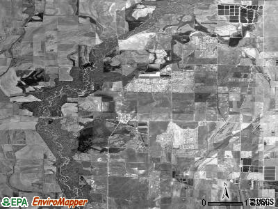 Zip code 72005 satellite photo by USGS