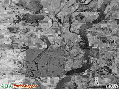 Zip code 72036 satellite photo by USGS