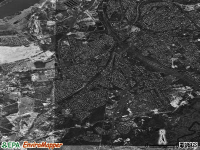 Zip code 08859 satellite photo by USGS