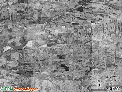 Zip code 72047 satellite photo by USGS