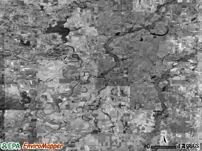 Zip code 72112 satellite photo by USGS