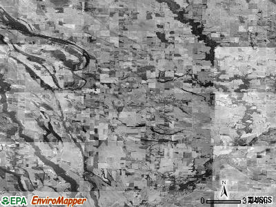 Zip code 72366 satellite photo by USGS
