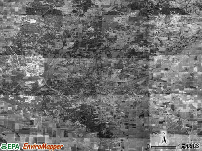 Zip code 72411 satellite photo by USGS