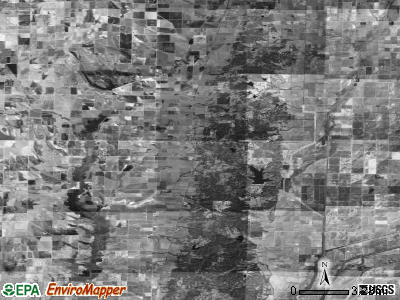 Zip code 72432 satellite photo by USGS