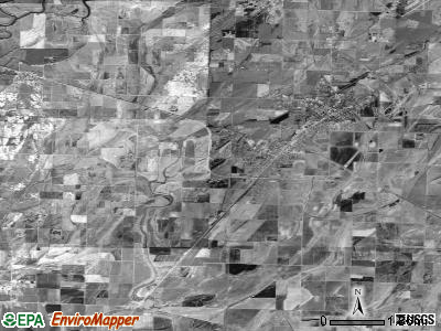 Zip code 72433 satellite photo by USGS