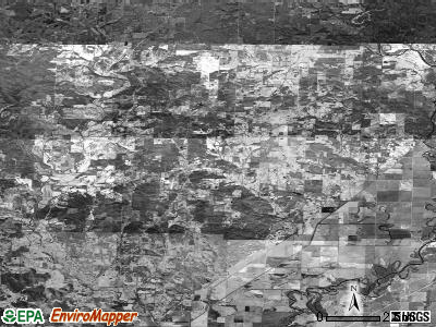 Zip code 72444 satellite photo by USGS
