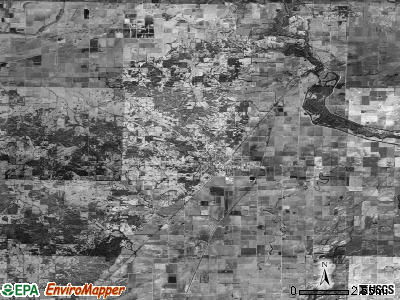 Zip code 72454 satellite photo by USGS