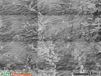 Zip code 72460 satellite photo by USGS