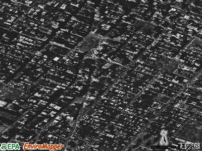 Zip code 10003 satellite photo by USGS