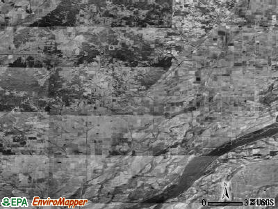Zip code 72461 satellite photo by USGS