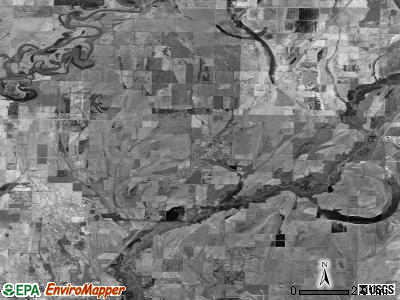 Zip code 72473 satellite photo by USGS