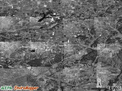 Zip code 72761 satellite photo by USGS