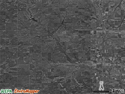 Zip code 73021 satellite photo by USGS