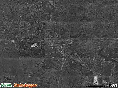 Zip code 73030 satellite photo by USGS