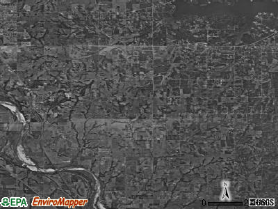 Zip code 73068 satellite photo by USGS
