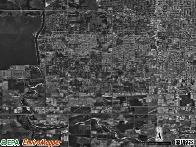 Zip code 73127 satellite photo by USGS