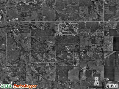 Zip code 73151 satellite photo by USGS