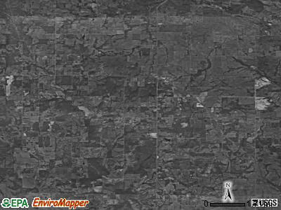 Zip code 73432 satellite photo by USGS