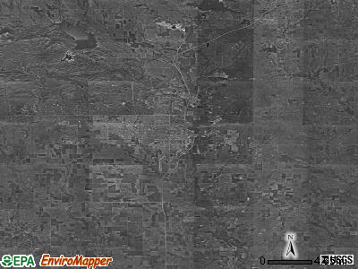 Zip code 73501 satellite photo by USGS