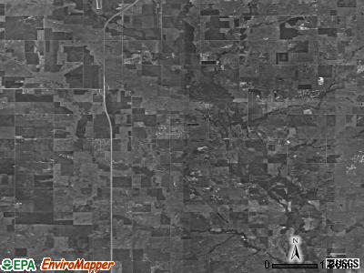 Zip code 73543 satellite photo by USGS