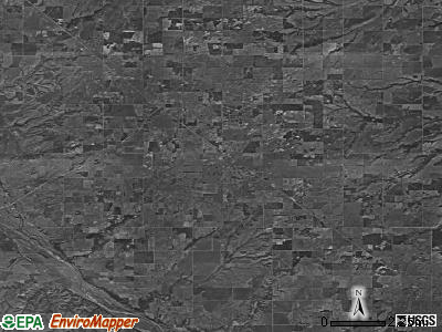 Zip code 73658 satellite photo by USGS