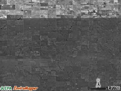 Zip code 73666 satellite photo by USGS