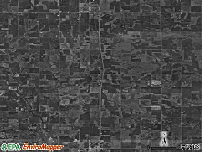 Zip code 73720 satellite photo by USGS