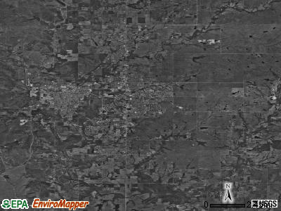 Zip code 74006 satellite photo by USGS