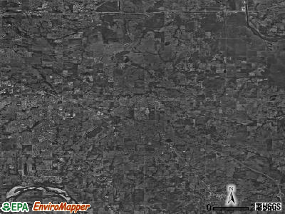 Zip code 74014 satellite photo by USGS