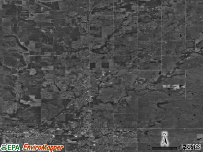 Zip code 74029 satellite photo by USGS