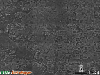 Zip code 74036 satellite photo by USGS