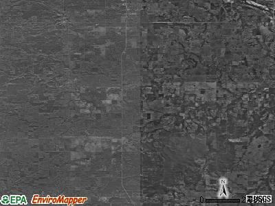 Zip code 74047 satellite photo by USGS