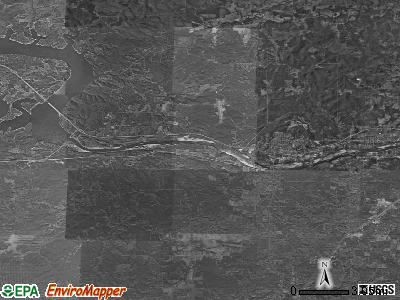 Zip code 74063 satellite photo by USGS